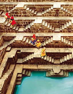 Abhaneri Step Well, Jaipur