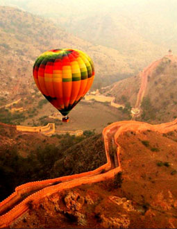 Hot Air Balloon Safari, Jaipur